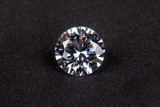 Diamant som är en form av kol