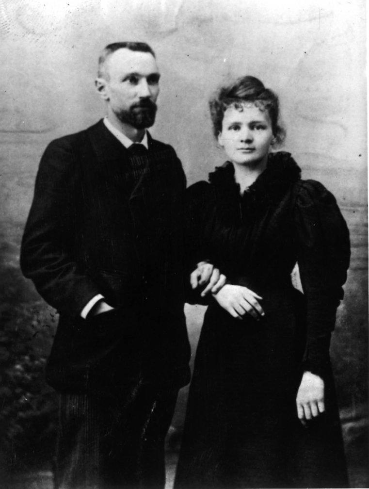 Pierre och Marie Curie